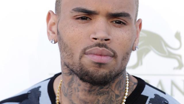 'Chris Brown woont samen met ex'