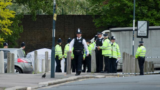 Man gearresteerd voor moord militair Londen