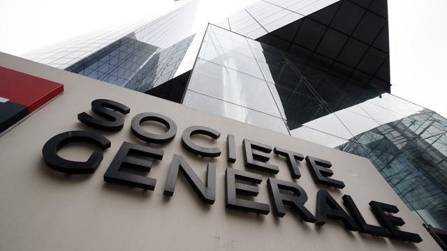 Winst Franse bank Société Générale hard omlaag