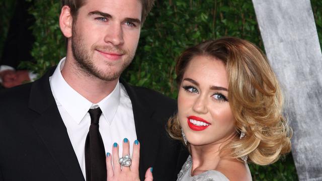 'Miley Cyrus en Liam Hemsworth definitief uit elkaar'