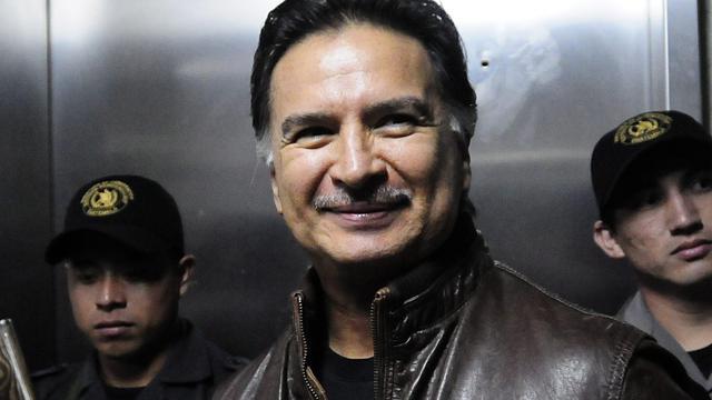 Ex-president Guatemala vrijgelaten uit gevangenis VS