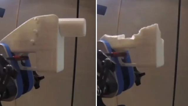 Politie Australië toont gevaar 3D-geprinte wapens in video