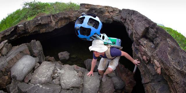 Unieke Galapagoseilanden op Street View