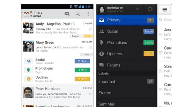 Redesign voor Gmail op komst
