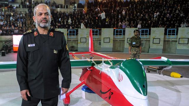'Iran stelt grote hoeveelheid raketten op'