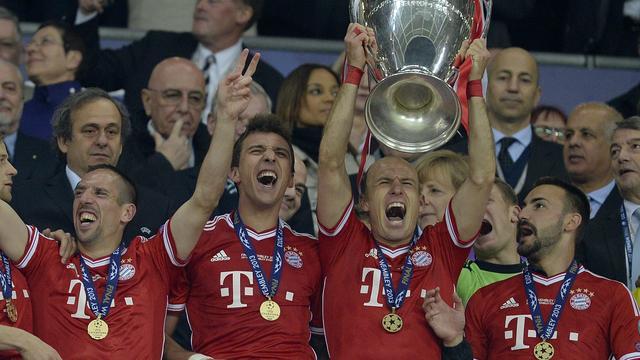 Robben bezorgt Bayern München Champions League