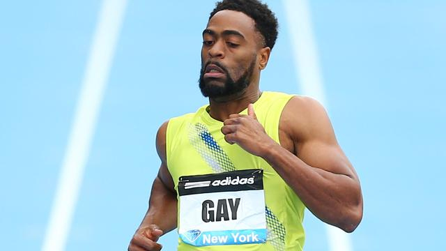 Gay snelste op 100 meter in Diamond League