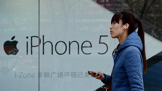 'Apple nadert grote deal in China'