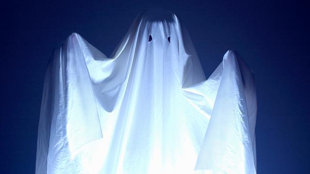 Beroemd Engels spook voor het eerst gefilmd