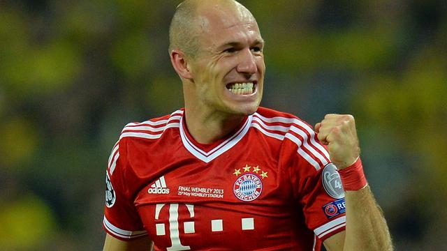 Robben krijgt basisplaats in Duitse bekerfinale