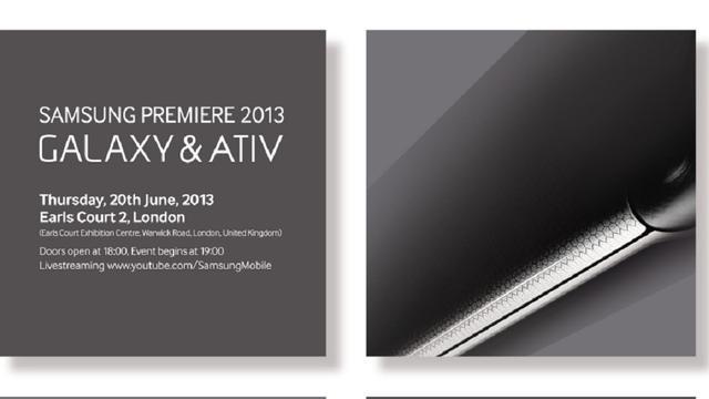 Samsung kondigt 20 juni nieuwe Galaxy- en Ativ-toestellen aan
