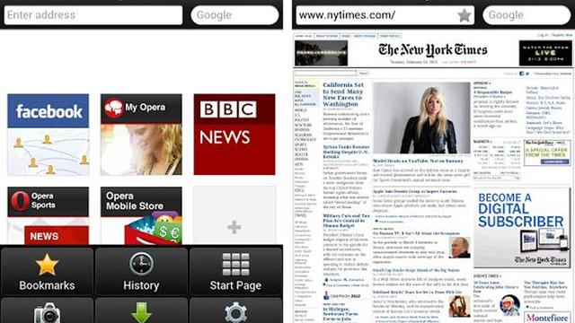Klassieke Opera-browser verschijnt in Android Play Store