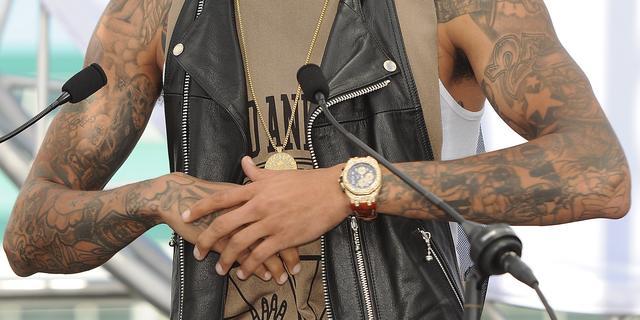 Chris Brown aangeklaagd voor mishandeling