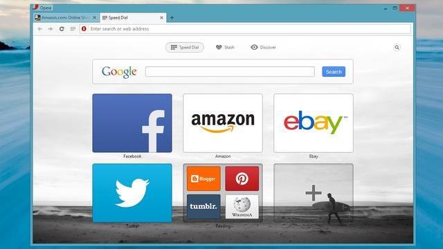 Probeerversie webbrowser Opera Next uitgebracht