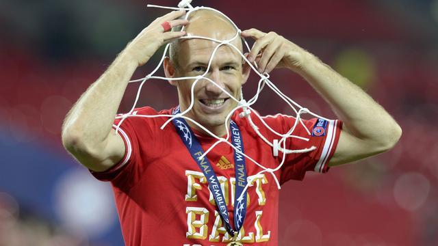 Robben voelt zich 'onsterfelijk' na winst Champions League