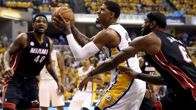 Pacers naast Heat in eindstrijd Eastern Conference