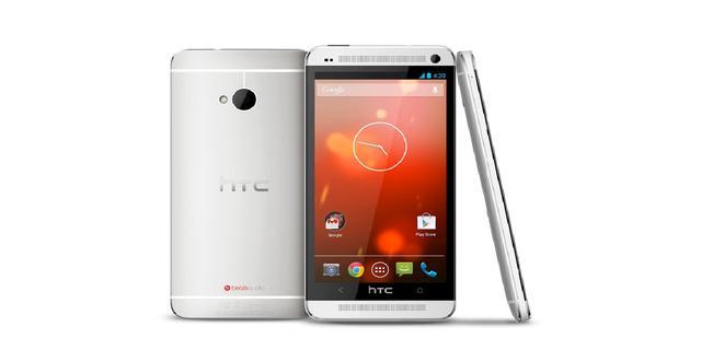Google introduceert HTC One met kale versie Android