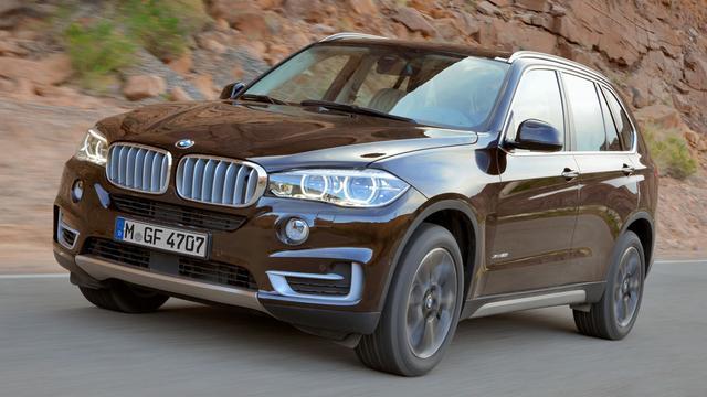 De gloednieuwe BMW X5