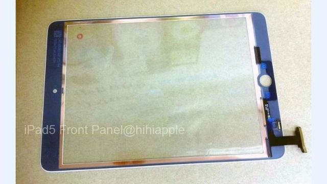 Foto toont mogelijk voorkant iPad 5