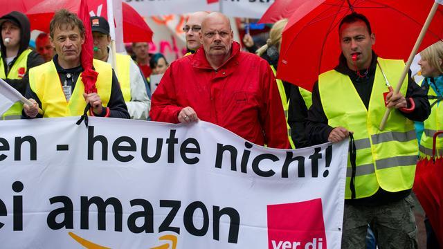 Derde staking bij Amazon in Duitsland