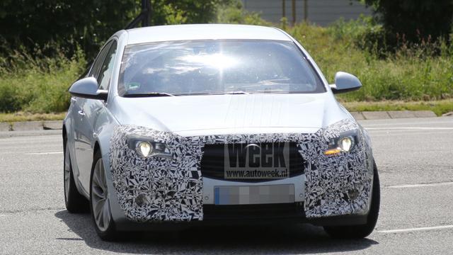 Duidelijker beeld van Opel Insignia facelift