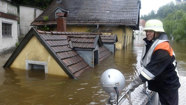Doden door wateroverlast in Europa