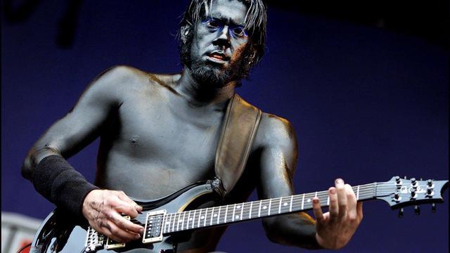 Limp Bizkit-gitarist Wes Borland voelt klok tikken