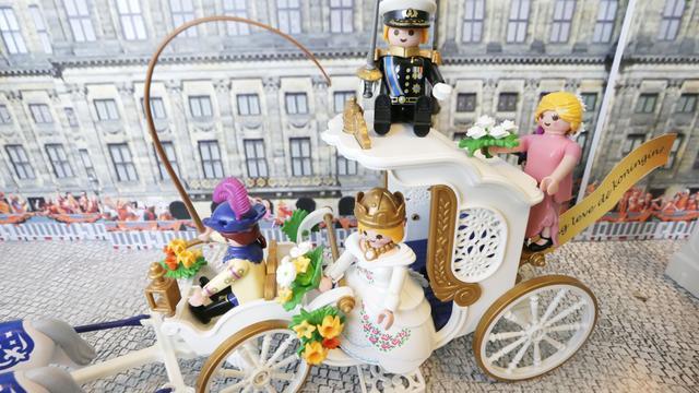Playmobil-verzamelaar stelt collectie tentoon in Hoogerheide