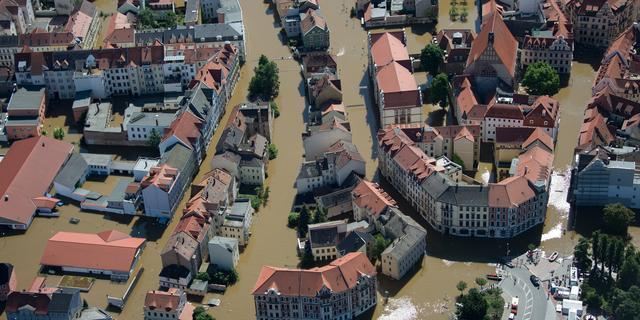 'Woningprijzen lager bij overstromingsgevaar'