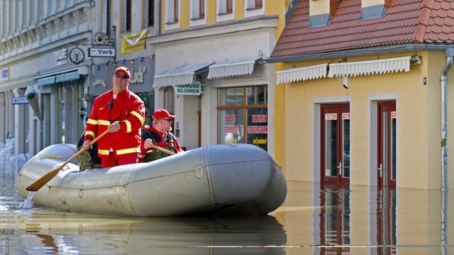 Waterpeil zakt in heel Duitsland