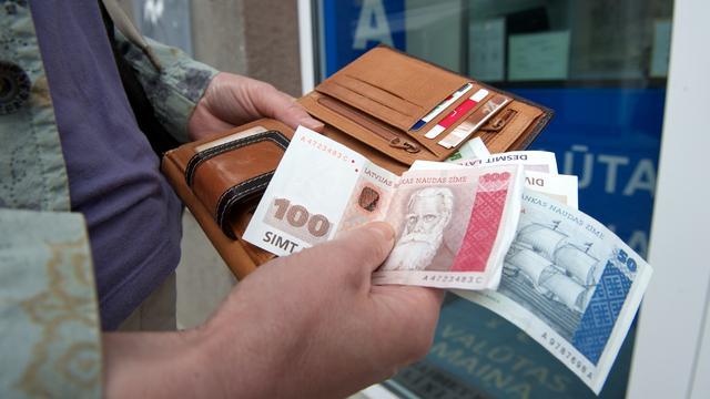 Letland komt de eurozone in