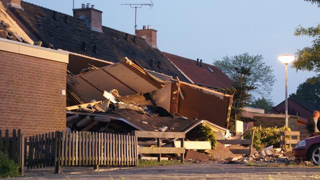 'Dode explosie Nieuw-Dordrecht vermoedelijk bewoner'