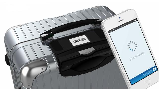 Slimme koffer toont locatie en info in app