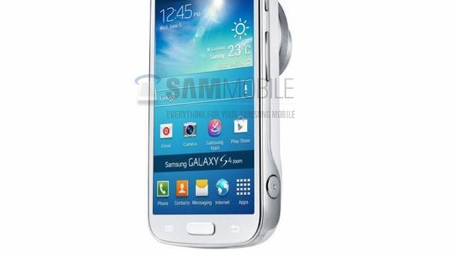 Afbeeldingen Galaxy S4 Zoom cameratelefoon uitgelekt