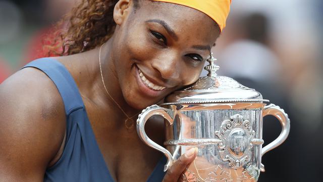 Serena Williams pakt eindzege Roland Garros