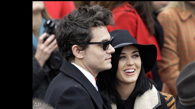 John Mayer draagt nummer aan Katy Perry op