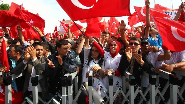 EU bezorgd over schandaal Turkije