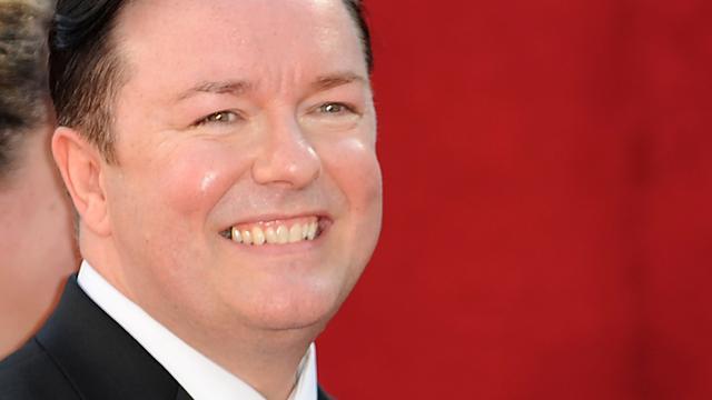 Ricky Gervais persoon van het jaar voor PETA