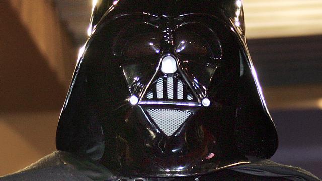 'Darth Vader' berooft bank in VS