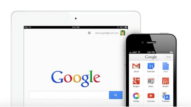 'iOS-apps Google winnen fors aan populariteit'