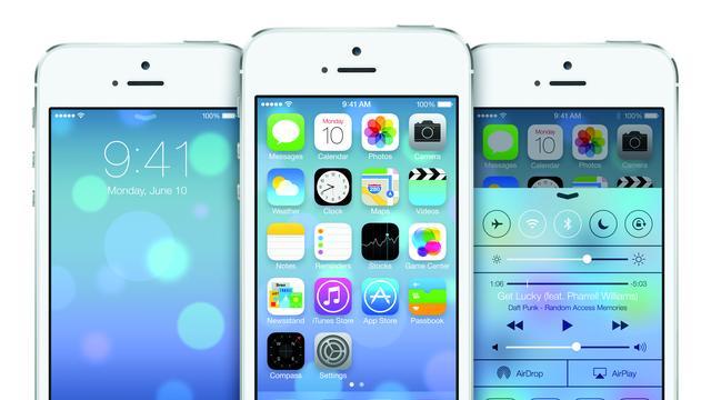 Uiterlijk iOS compleet op de schop in nieuwe versie