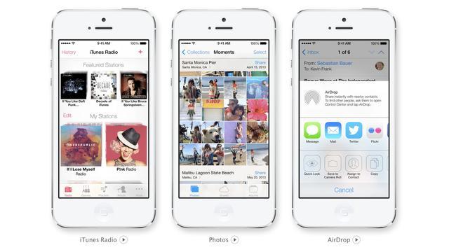 iOS 7 te besturen met hoofdbewegingen