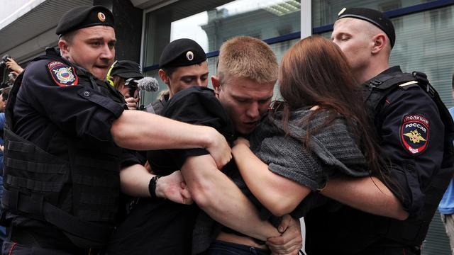 Rusland verbiedt 'homoseksuele propaganda'