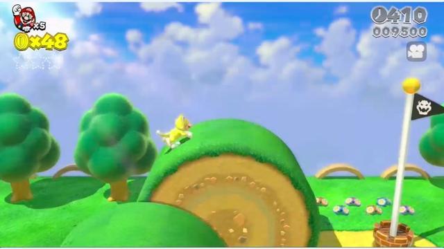 Nintendo toont nieuwe Super Mario en Mario Kart