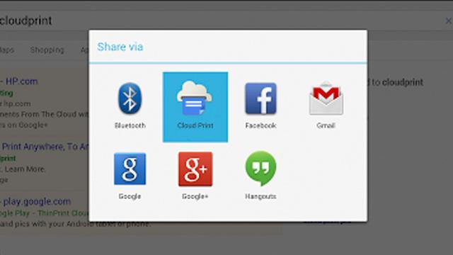 Google brengt eigen Cloud Print-app naar Android