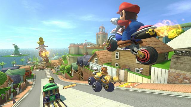 Mario Kart 8 krijgt nieuwe parcoursen en personages
