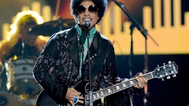 Prince geeft concert in Ziggo Dome