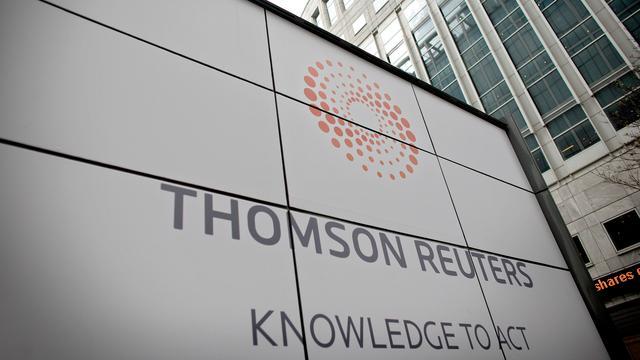 Omzet en winst Thomson Reuters omhoog