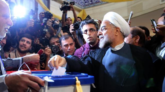 'Vooral jongeren in Iran lijken te stemmen'