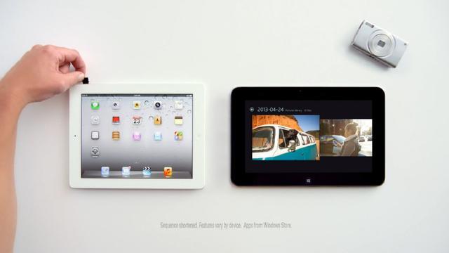 Microsoft maakt iPad opnieuw belachelijk